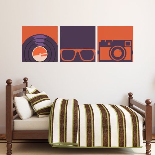 Hipster Room Squares