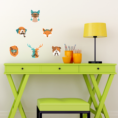 Hipster Animals Room Icons