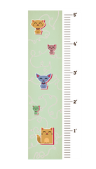 Kitty Cats Room Growth Chart