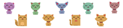 Kitty Cats Room Icons