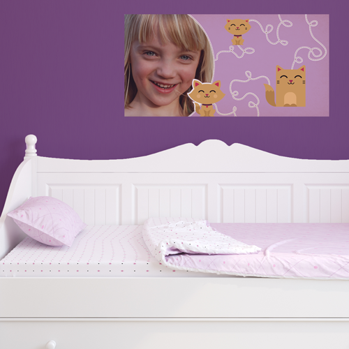 Kitty Cats Room Rectangle