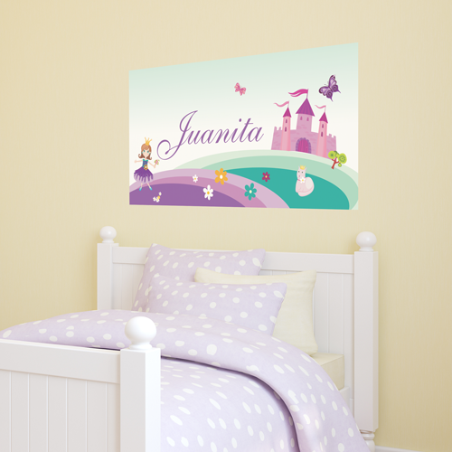 Pretty Princess (Purple) Room Name