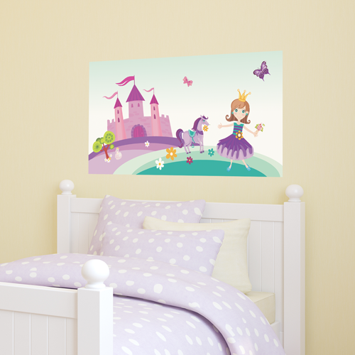 Pretty Princess (Purple) Room Rectangle
