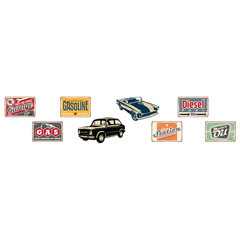Car Rustic Room Icons