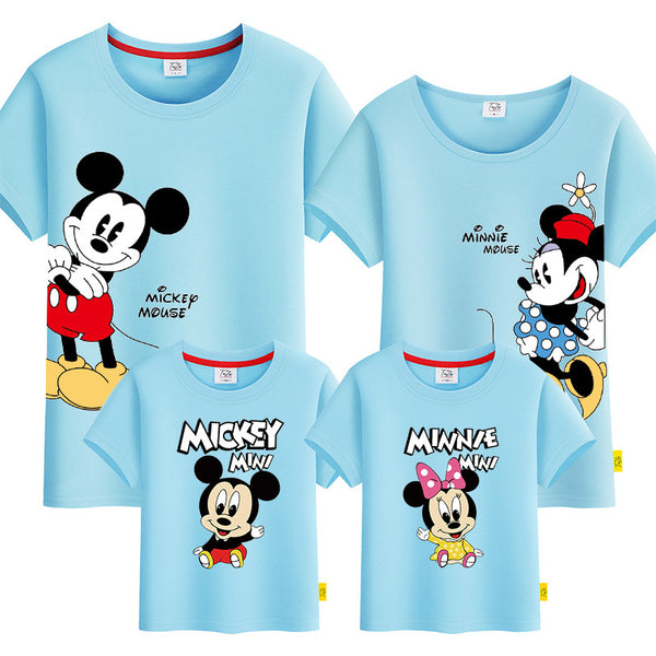 Disney Hello Mickey Family Tshirt 《你好米奇》家庭装
