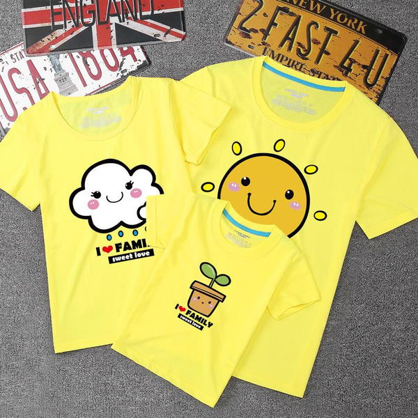 Sun & Cloud Family Tee《太阳云》家庭装