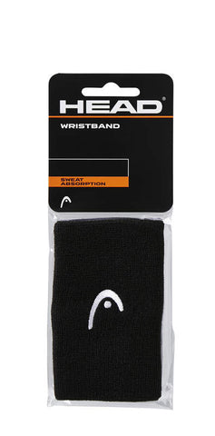 "Head WRISTBAND 5"" BK"