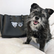 Load image into Gallery viewer, Hand-Painted Pet Portrait Leather/Faux Leather Items - Purse, Bag, Wallet
