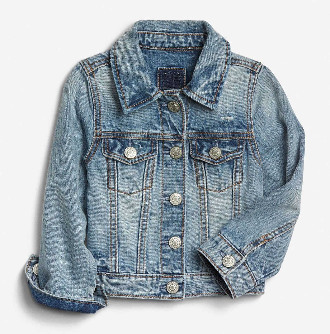 Add on item - Baby/Toddler Denim Jacket - Jacket Only