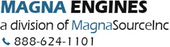 Magna Forklift Engines Logo to represent the forklift engines for sale on this website