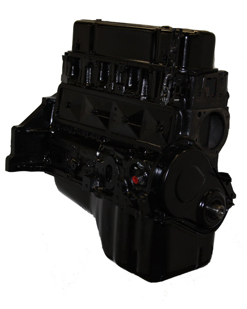 This is an image of a GM forklift engine to represent the General Motors (GM) 181 (1 Piece - Rear) Long Block Forklift Engine Assembly for sale on this page