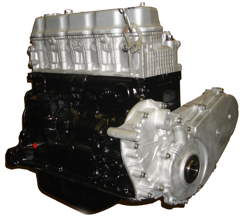 This is an image of a Nissan forklift engine to represent the Nissan K21 Long Block Forklift Engine Assembly for sale on this page