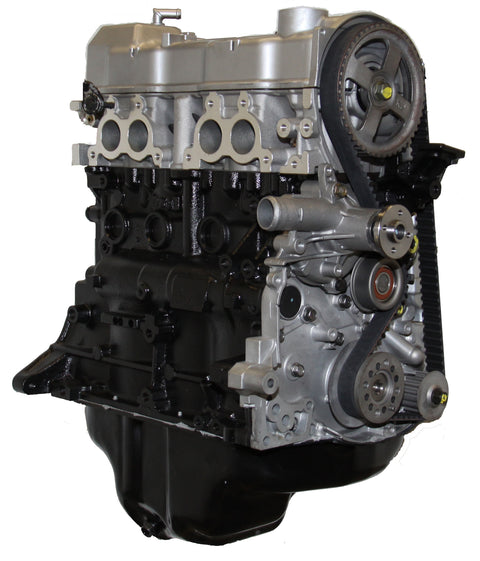 This is an image of a Mitsubishi forklift engine to represent the Mitsubishi 4G63 Non-balanced Long Block Forklift Engine for sale on this page