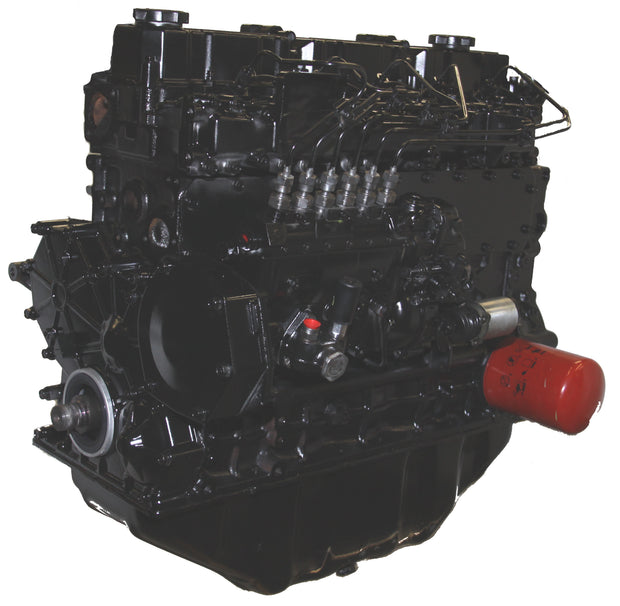 This is an image of a Mitsubishi forklift engine to represent the Mitsubishi S6S Long Block Forklift Engine for sale on this page