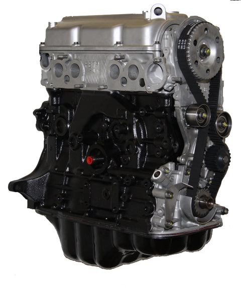 This is an image of a Mazda forklift engine to represent the Mazda F2SA (Long Nose) Long Block Engine Assembly for sale on this page