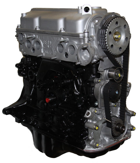 This is an image of a Mazda forklift engine to represent the Mazda FE-LN (Long Nose) Long Block Engine Assembly for sale on this page