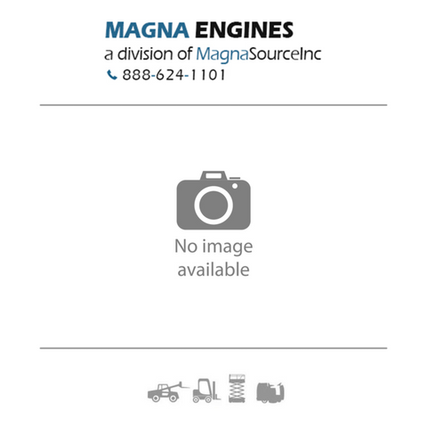 This a placeholder image with the Magna Forklift Engines logo stand in place of an image of the Nissan SD33 Diesel Long Block Forklift Engine Assembly for sale on this page