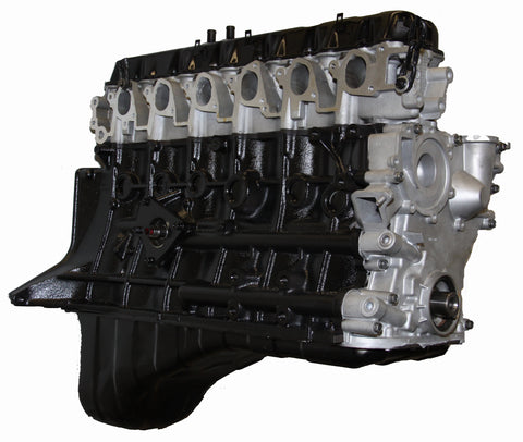 This is an image of a Nissan forklift engine to represent the Nissan TB45E Long Block Forklift Engine Assembly for sale on this page