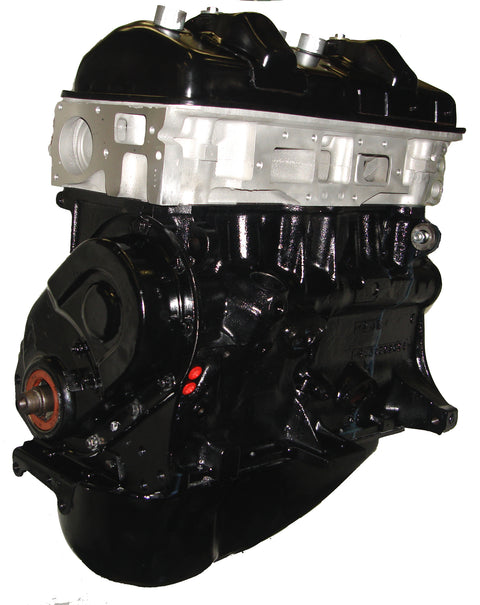 This is an image of the Peugout XN1P Long Block Forklift Engine Assembly that is for sale on this page.