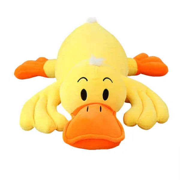 Soft Plush Yellow Duck Stuffed Pillow