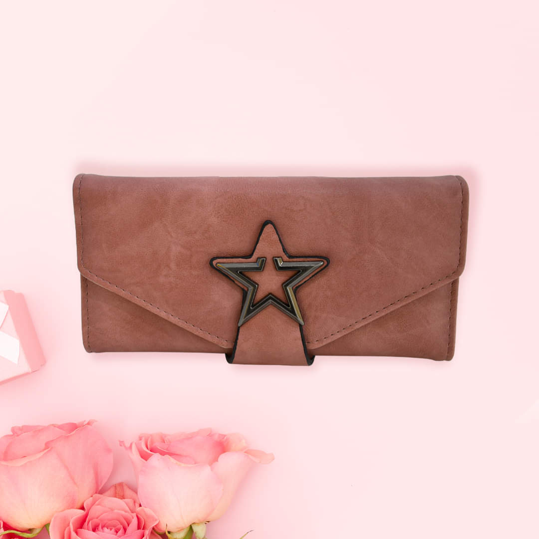 Star Design Ladies Clutch