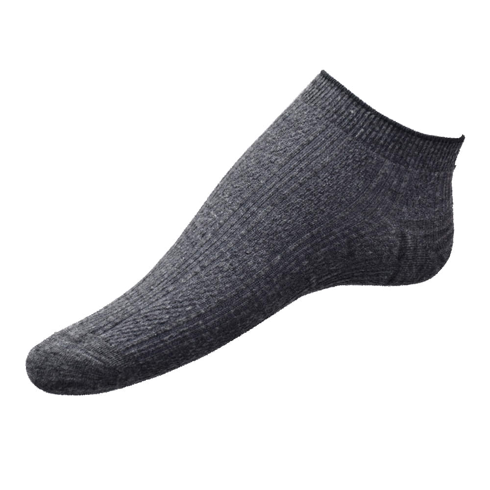 Premium Cotton Liner Extra Cut No-Show Socks (Pack of 3)