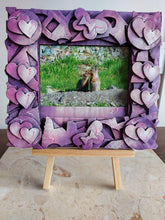 Load image into Gallery viewer, Hearts Photo Frame