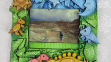 Load and play video in Gallery viewer, Dinosaurs picture frame