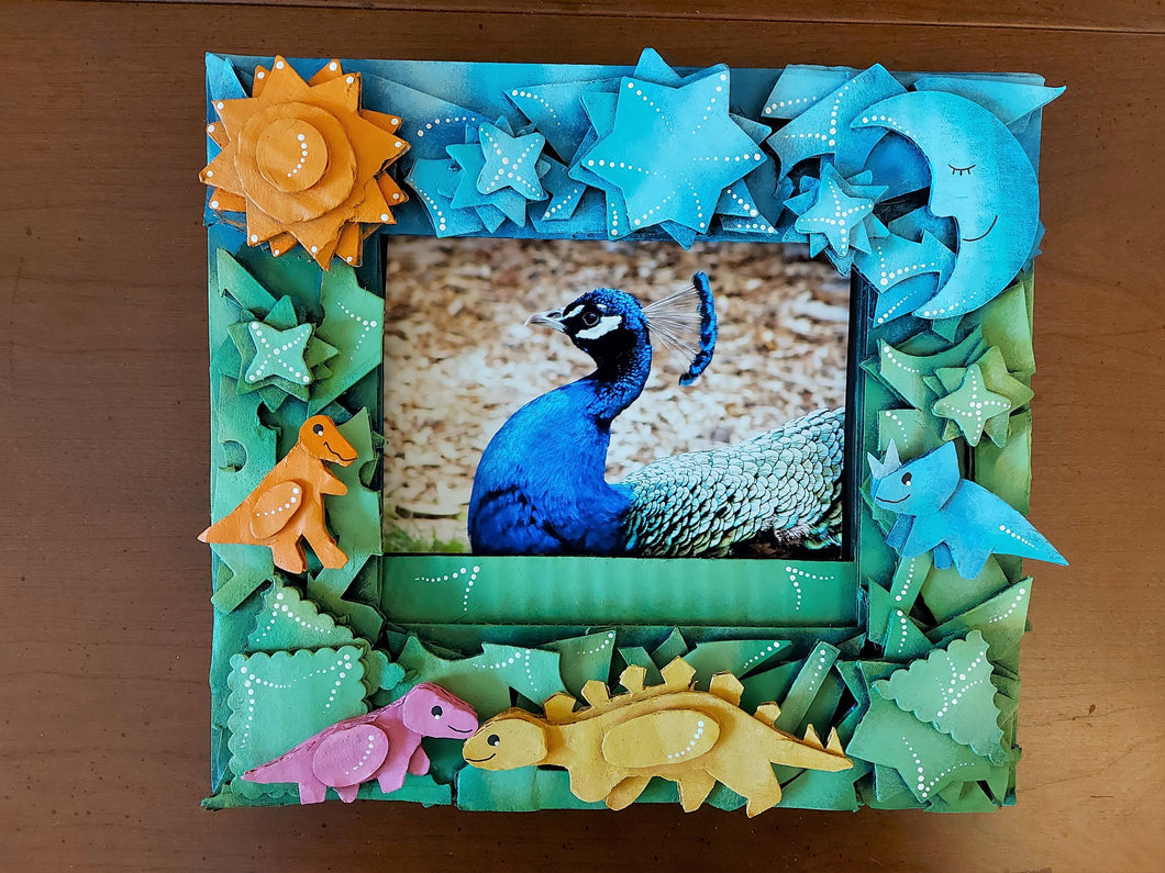 Dinosaurs picture frame