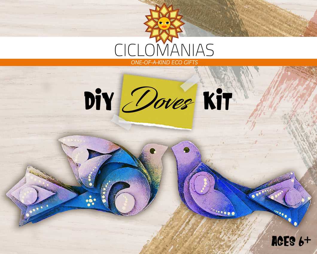 Doves _ DIY and Painting kit