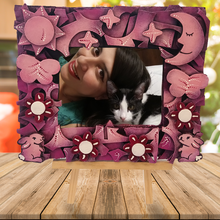 Load image into Gallery viewer, Colorful and Sustainable 4x6 Photo Frame