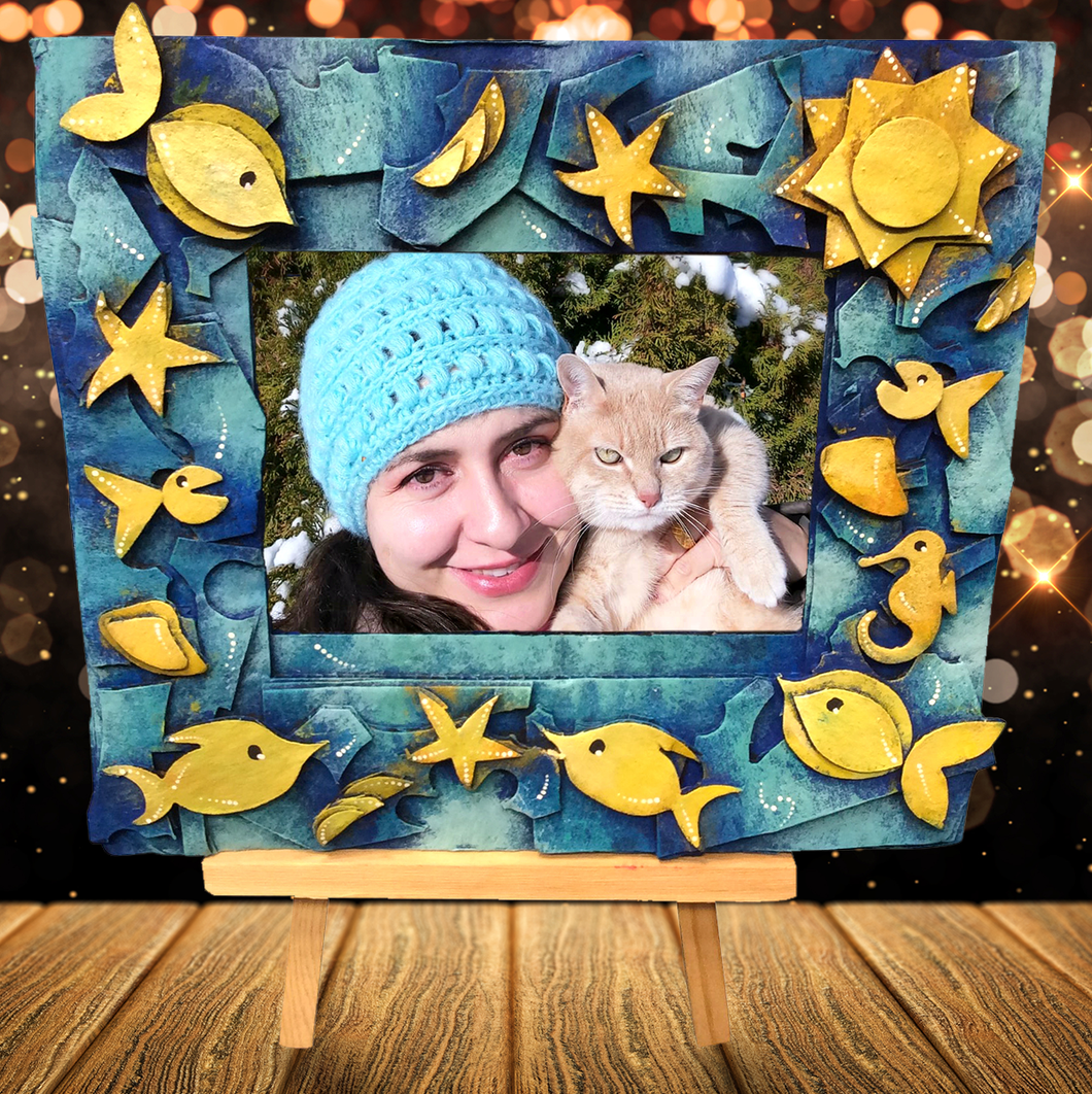 Colorful and Sustainable 4x6 Photo Frame