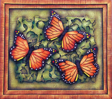 Load image into Gallery viewer, Monarch Butterfly on a 3D Composition Frame