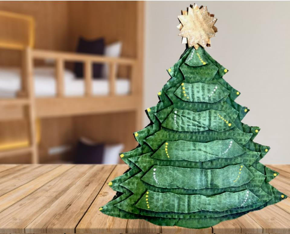 Woodland Pine Tree Decoration
