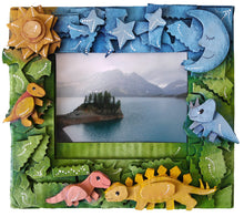 Load image into Gallery viewer, Dinosaurs picture frame