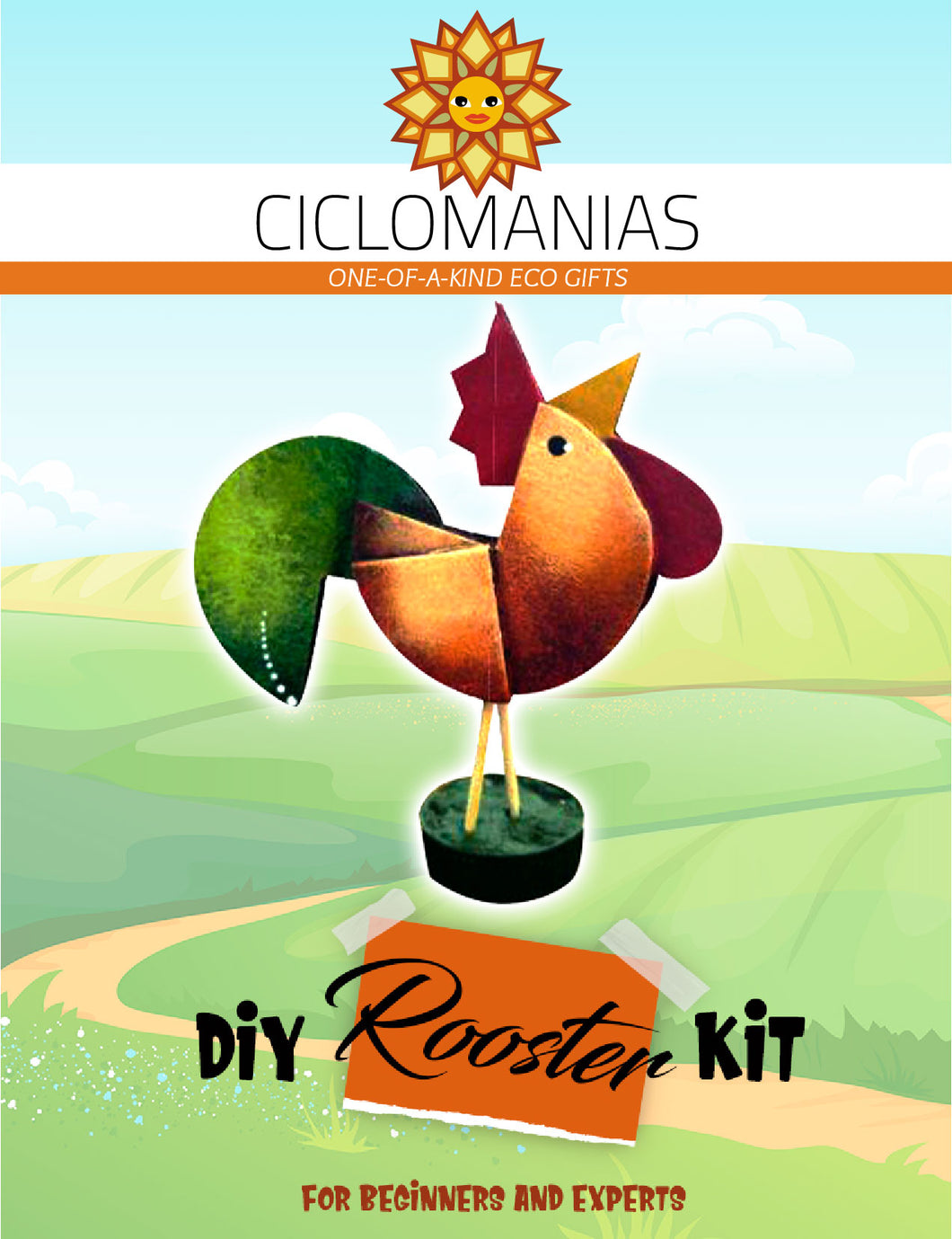 Rooster _ Do It Yourself Kit