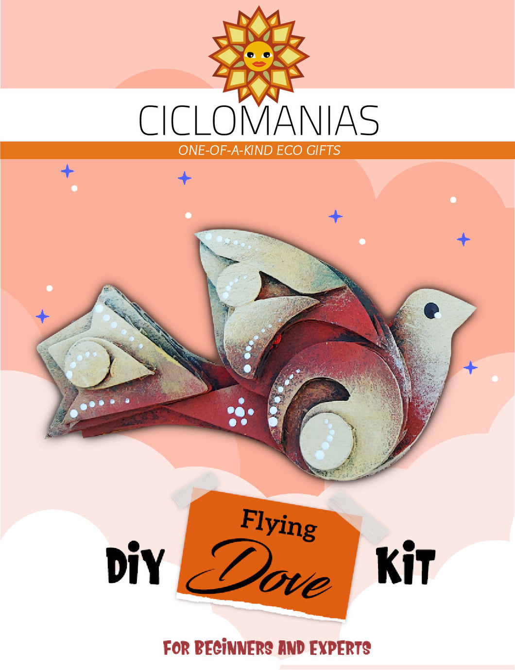Flying Dove _ Do It Yourself Kit
