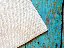 Load image into Gallery viewer, Farmhouse Burlap Linen Placemat Sublimation Blank