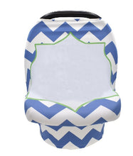 Load image into Gallery viewer, Baby Car Seat Carrier Cover Sublimation Blank