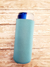 Load image into Gallery viewer, Neoprene Side Stitch Skinny Slim Koozie Sublimation Blank Can Cooler