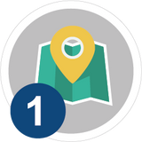 #1 - map icon - hike our trails