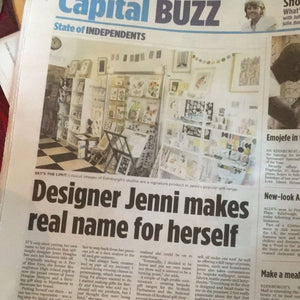 Jenni Douglas Designs in the Press
