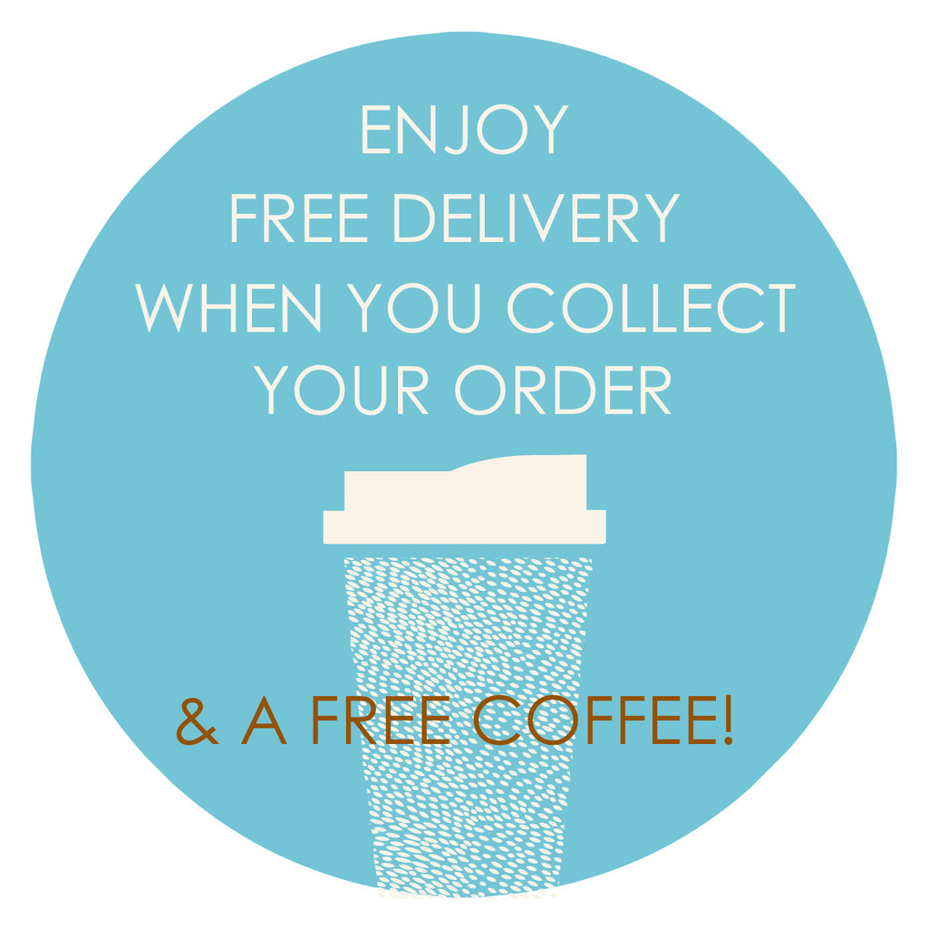 Free Delivery (& Coffee) With Collected Orders