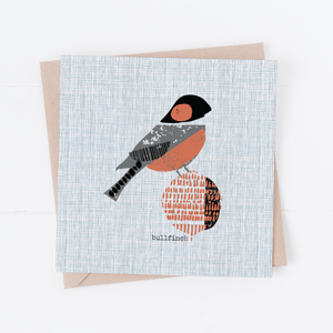 Bullfinch Art Card
