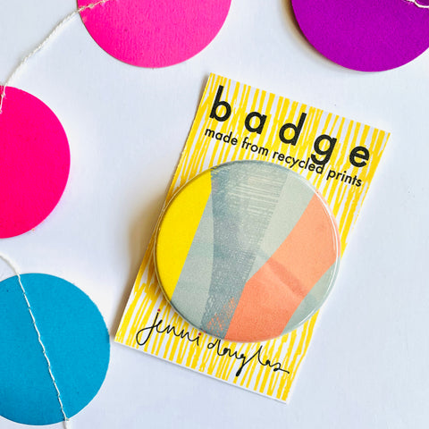 Printmaking Pattern Badge No.1