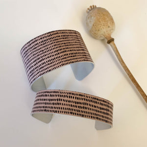 Connect Wide Cuff Bracelet No.1 (New)