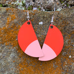 Load image into Gallery viewer, Tulip Earrings (Red)