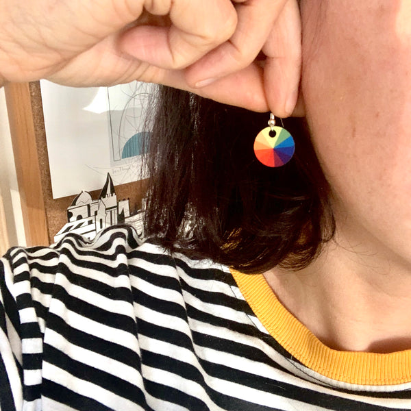 Colour Wheel Earrings (New)