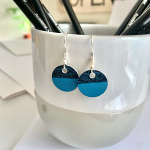 Balance Earrings - Teal
