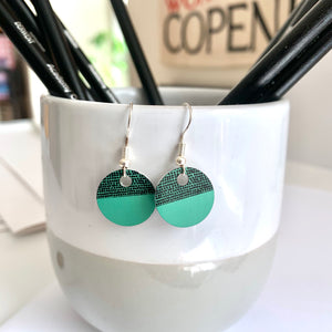 Balance Earrings - Green (New)